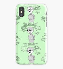 Chopped Parody — Spicy Mastodon-Tusk Gazpacho iPhone Case