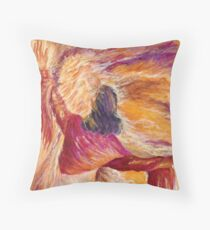 Where The Spirit Of The Lord Is Throw Pillow