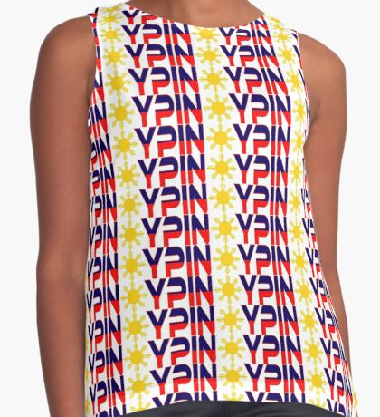 Pin*y Patriot Flag Series 1.0 Sleeveless Top