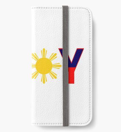 Pin*y Patriot Flag Series 1.0 iPhone Wallet