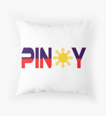 Pin*y Patriot Flag Series 1.0 Throw Pillow