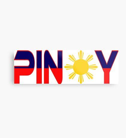 Pin*y Patriot Flag Series 1.0 Metal Print
