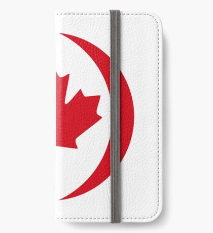 Canadian Patriot Flag Series 1.0 iPhone Wallet