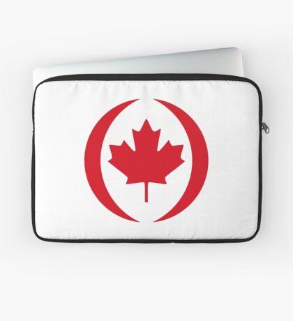 Canadian Patriot Flag Series 1.0 Laptop Sleeve