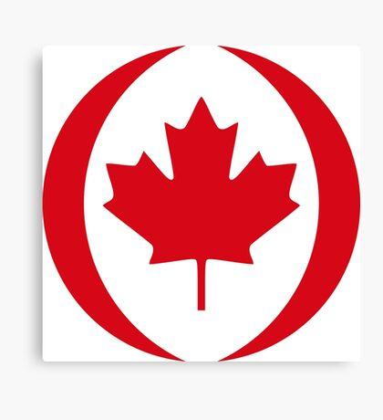 Canadian Patriot Flag Series 1.0 Canvas Print