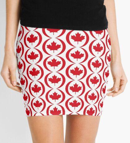 Canadian Patriot Flag Series 1.0 Mini Skirt