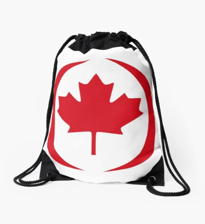 Canadian Patriot Flag Series 1.0 Drawstring Bag