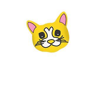 Kitty Cat Cute Face by Keyma