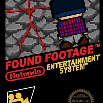 Retro Video Games Nintendo NES Cover Art Found Footage by McPod