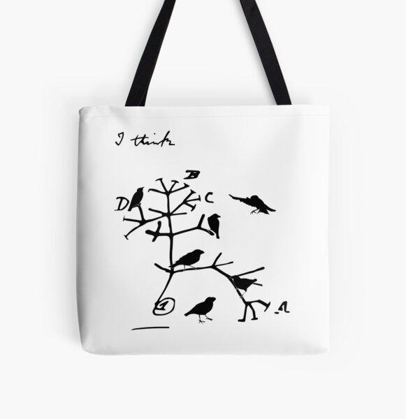 Darwin's Tree of Life All Over Print Tote Bag