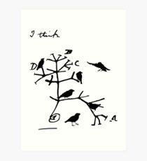 Darwin's Tree of Life Art Print