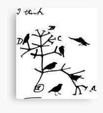 Darwins Baum des Lebens Leinwanddruck