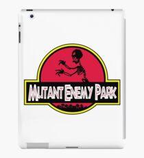 MUTANT ENEMY PARK, GRR! ARRGGH! iPad Case/Skin