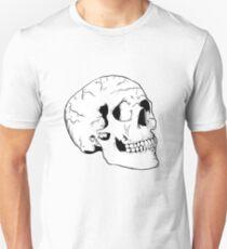 White Skull Unisex T-Shirt