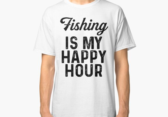 Fishing is my happy our.