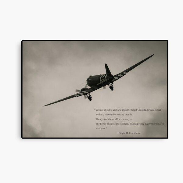 D-Day C-47 Canvas Print