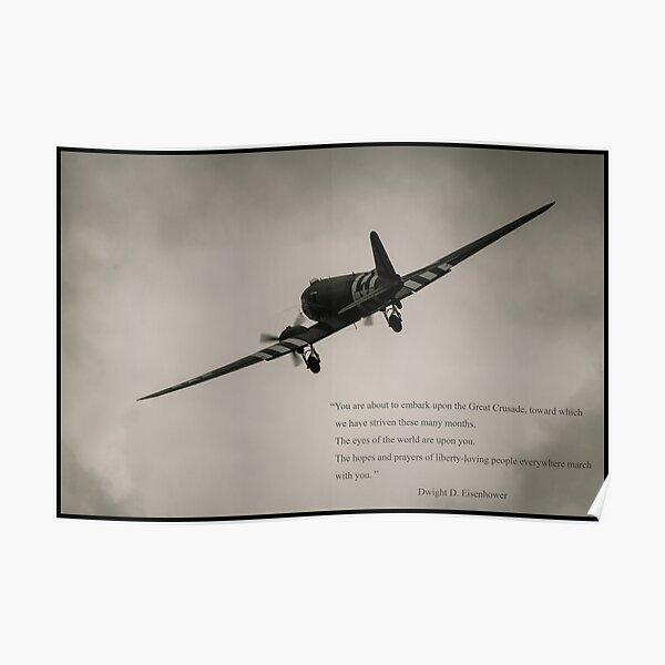 Matt Hall Art Print 101st Band of Brothers D-day C-47 Signed by WWII Veterans!