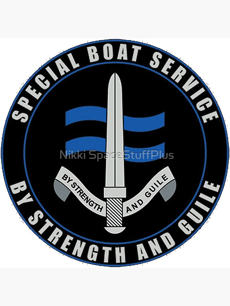 Special Boat Service (SBS) Logo by Spacestuffplus