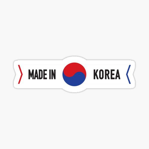 Made in Korea Sticker
