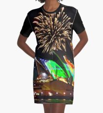 And then there were firworks Graphic T-Shirt Dress