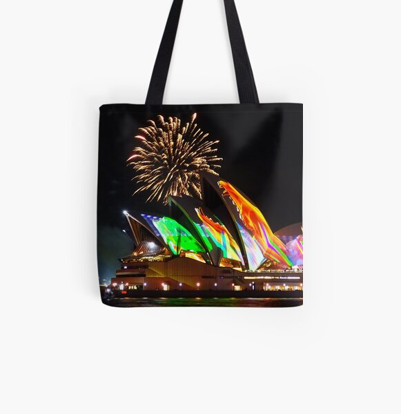 And then there were firworks All Over Print Tote Bag