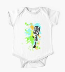Old Skool Microphone Kids Clothes