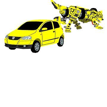 Volkswagen Fox Transformer by MrTWilson