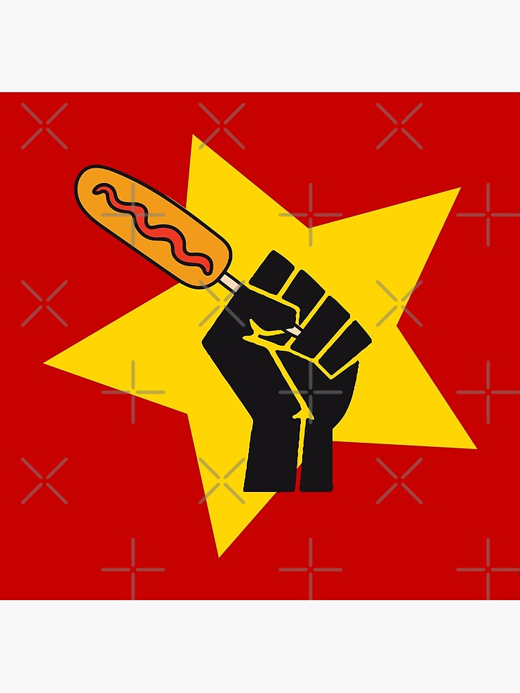 Communist fist with funny pogo parody HD HIGH QUALITY ONLINE STORE by iresist