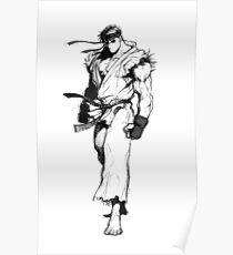 Ryu Portrait Poster