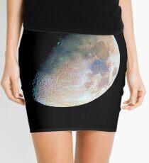 The moon in colour Mini Skirt