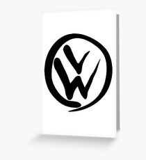VW Slim Greeting Card