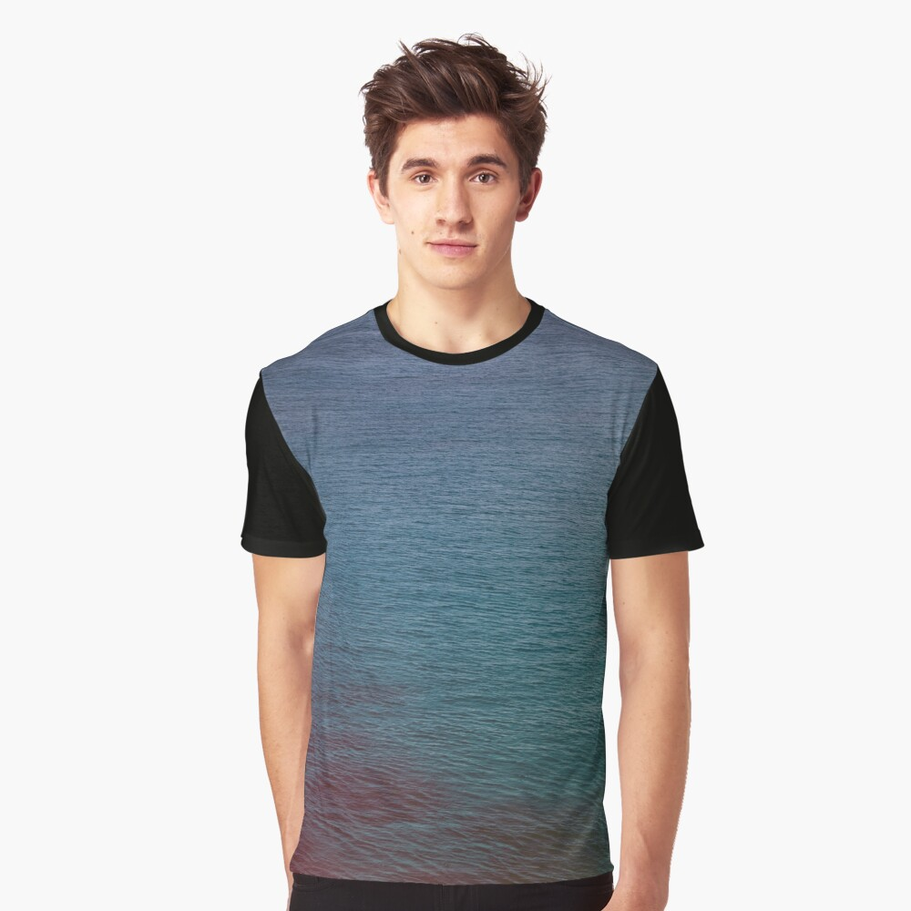 one with the sea Graphic T-Shirt Front