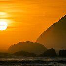 Orange Sunset by williamsrdan