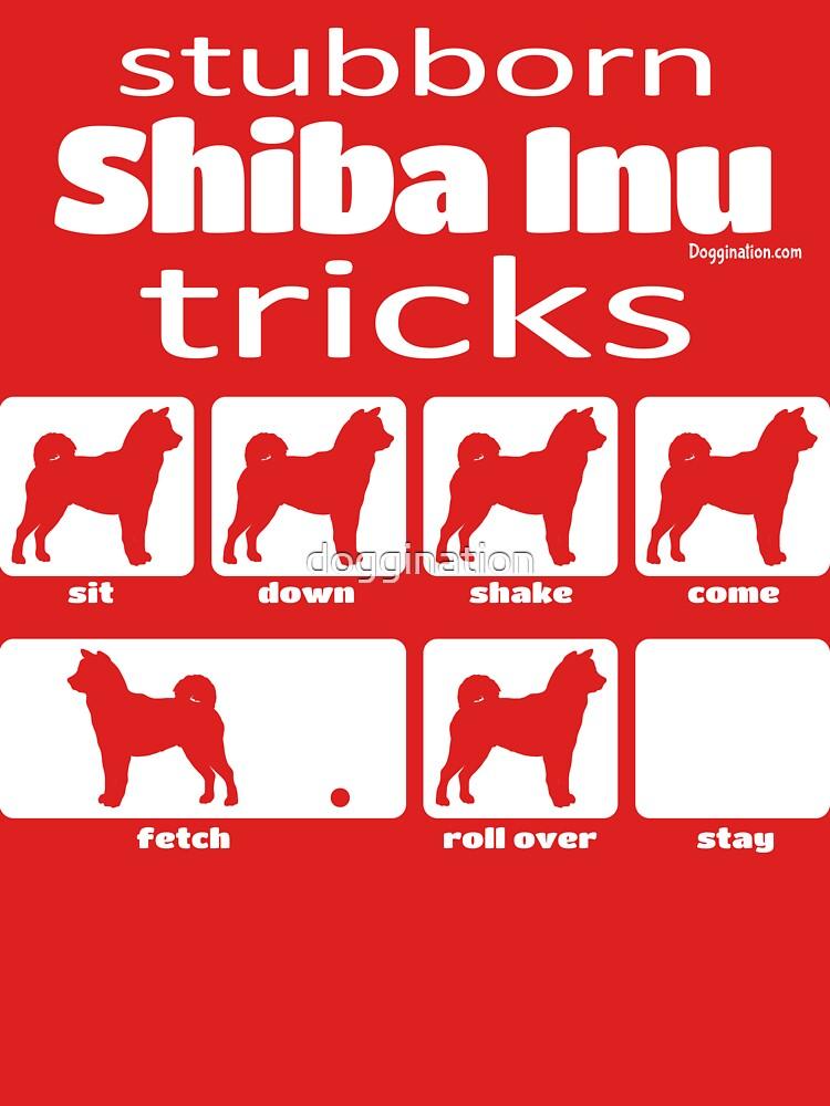 Stubborn Shiba Inu Tricks by doggination