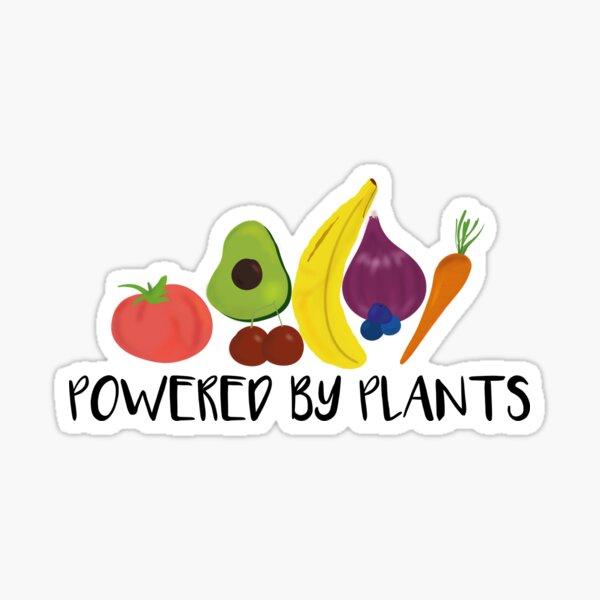Power of Plants Sticker