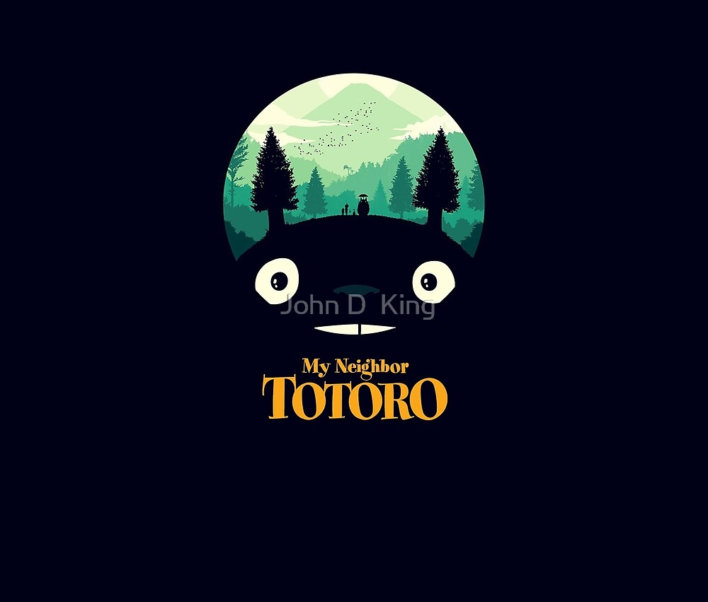 the neighbor totoro by John D  King