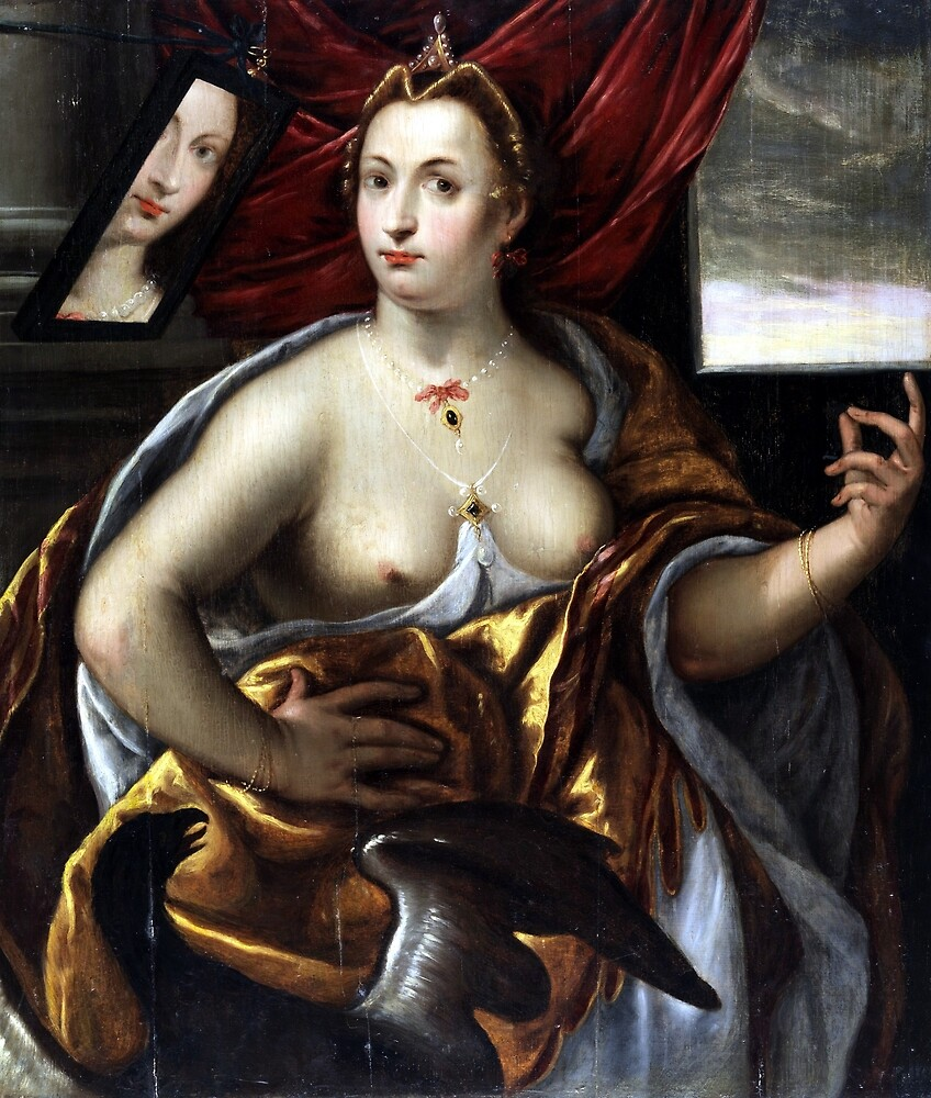 Frans Floris Allegory of the Face by pdgraphics