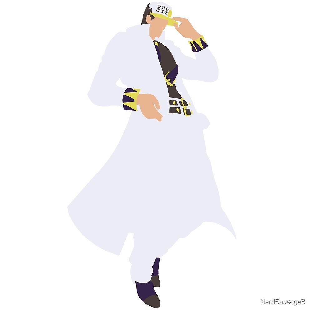 JoJo's Bizarre Adventure Minimalist DiU Jotaro Kujo by NerdSausage3