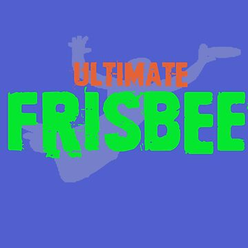 Ultimate Frisbee Tee by STdesigns