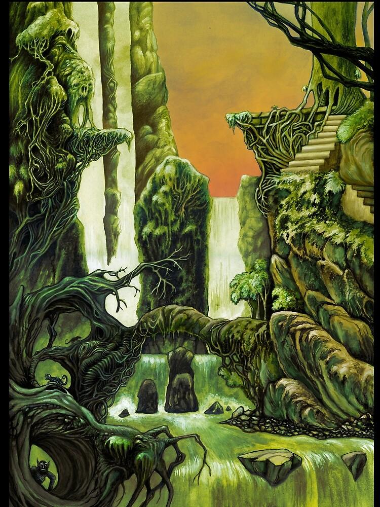 Otherworldly jungle by StijnVanElst