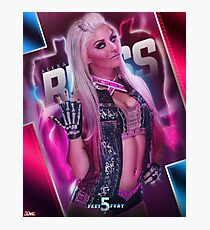 Five Feet Of Fury - Alexa Bliss  Photographic Print