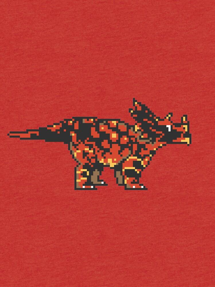 Tiny Triceratops by e-pona