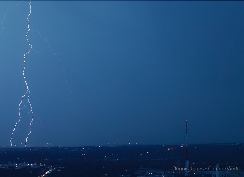 Split Lightning by Dennis Jones - CameraView