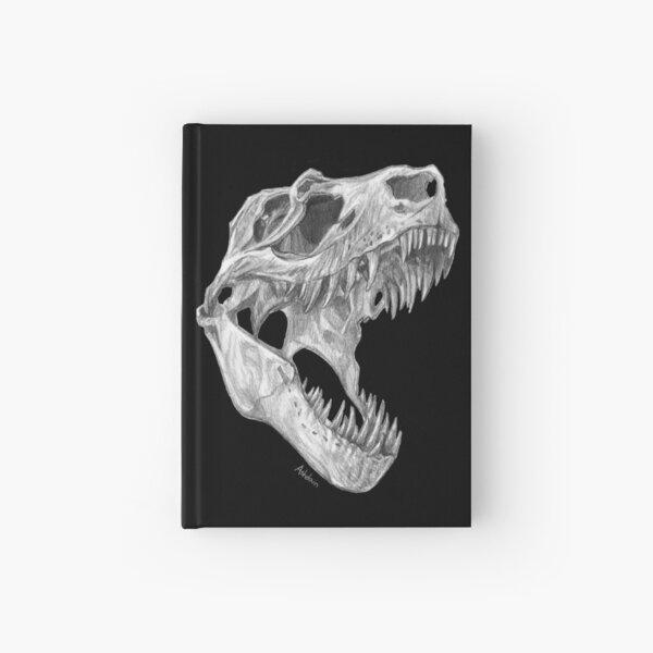 T-rex skull Hardcover Journal