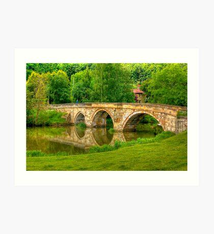 Kirkham Bridge - River Derwent Art Print