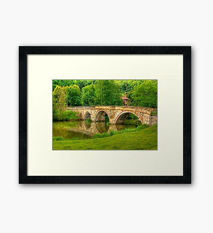 Kirkham Bridge - River Derwent Framed Print