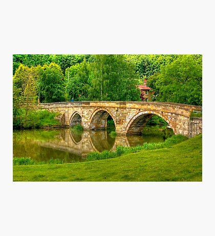 Kirkham Bridge - River Derwent Photographic Print