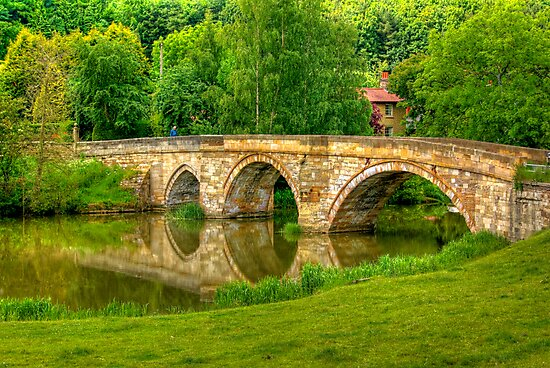 Kirkham Bridge - River Derwent by Trevor Kersley