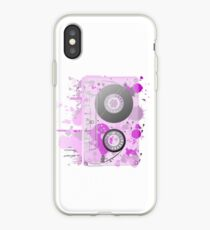 Cassette Series Nr. 3 - Purple Madness iPhone Case