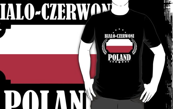 Poland Soccer Fan T-Shirt Football Tshirt Poland Gift